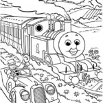 Colouring Pages Thomas The Tank Engine