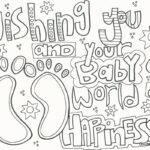 Free Printable Alphabet Coloring Pages For Baby Shower