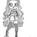 Lol Surprise Omg Dolls Coloring Pages Printable