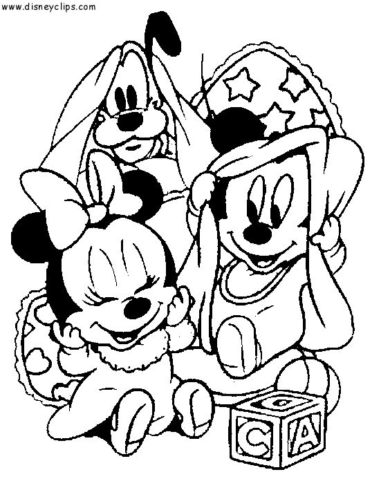 Baby+Disney+Coloring+Pages | Disney Babies Coloring Pages ...