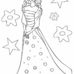 Barbie Doll Coloring Pages Print