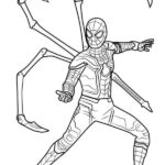 Iron Man Spiderman Coloring Page