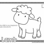 Christian Alphabet Coloring Pages