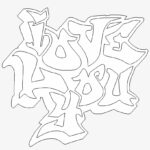 Graffiti Coloring Pages Online
