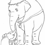 Elephant Coloring Pages Disney