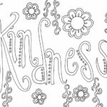 Kindness Coloring Pages Pdf Free