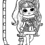 Omg Doll Coloring Pages