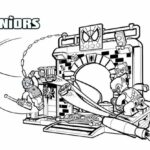Lego Spider Man Homecoming Coloring Pages