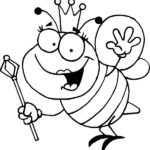 Coloring Pages Images Bumblebee