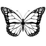 Butterfly Coloring Pages For Adults Printable