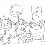 Coloring Pages Dragons Rescue Riders