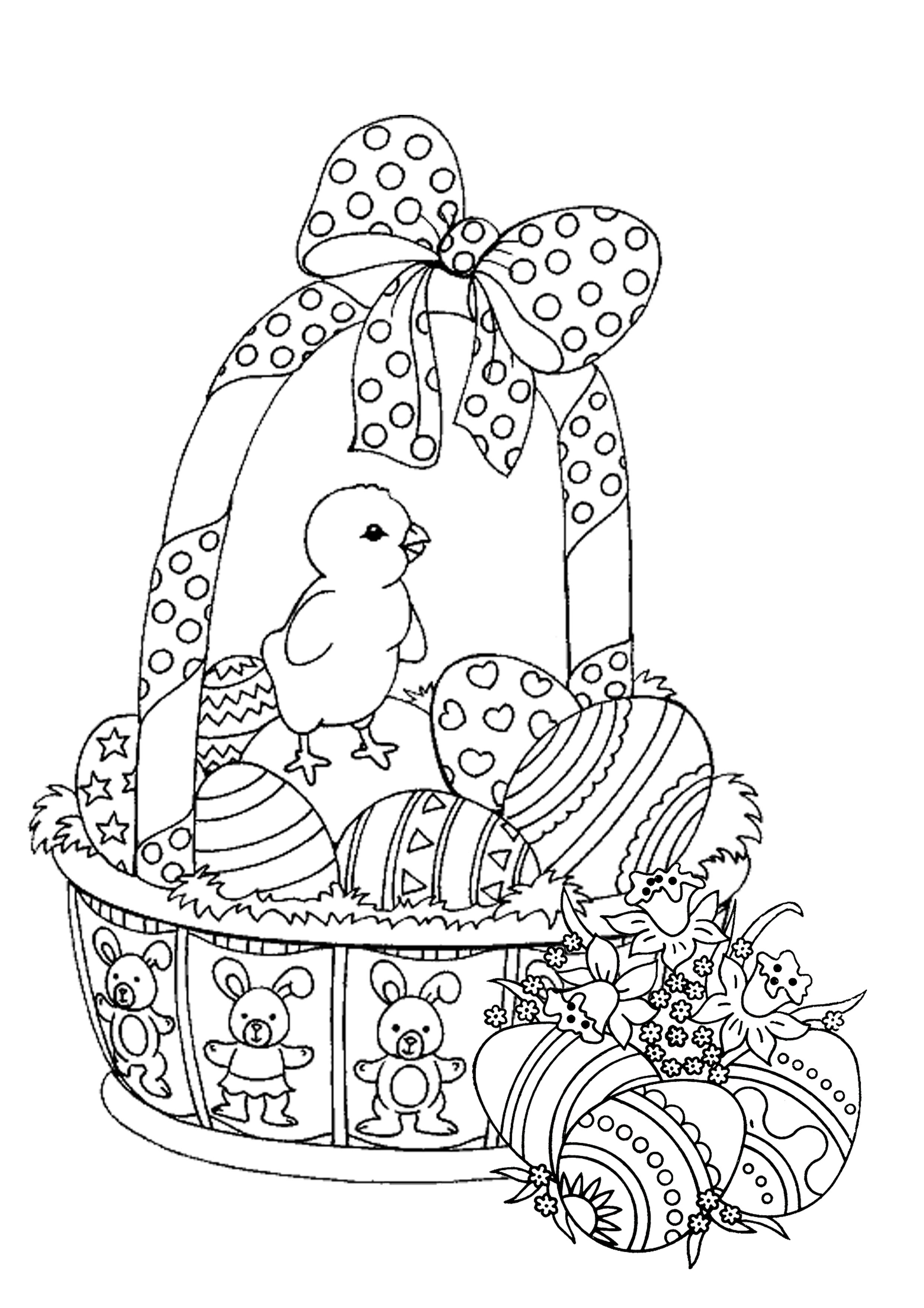 Easter Coloring Pages for Adults - Best Coloring Pages For ...