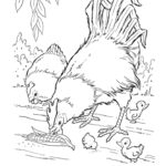 Animal Coloring Pages For Toddlers