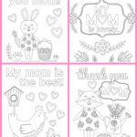 Printable Coloring Pages Mother's Day