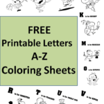 Learn Alphabet A To Z Coloring And Drawing