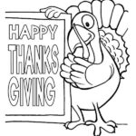Printable Happy Thanksgiving Coloring Pages