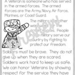 Veterans Day Coloring Pages For First Grade