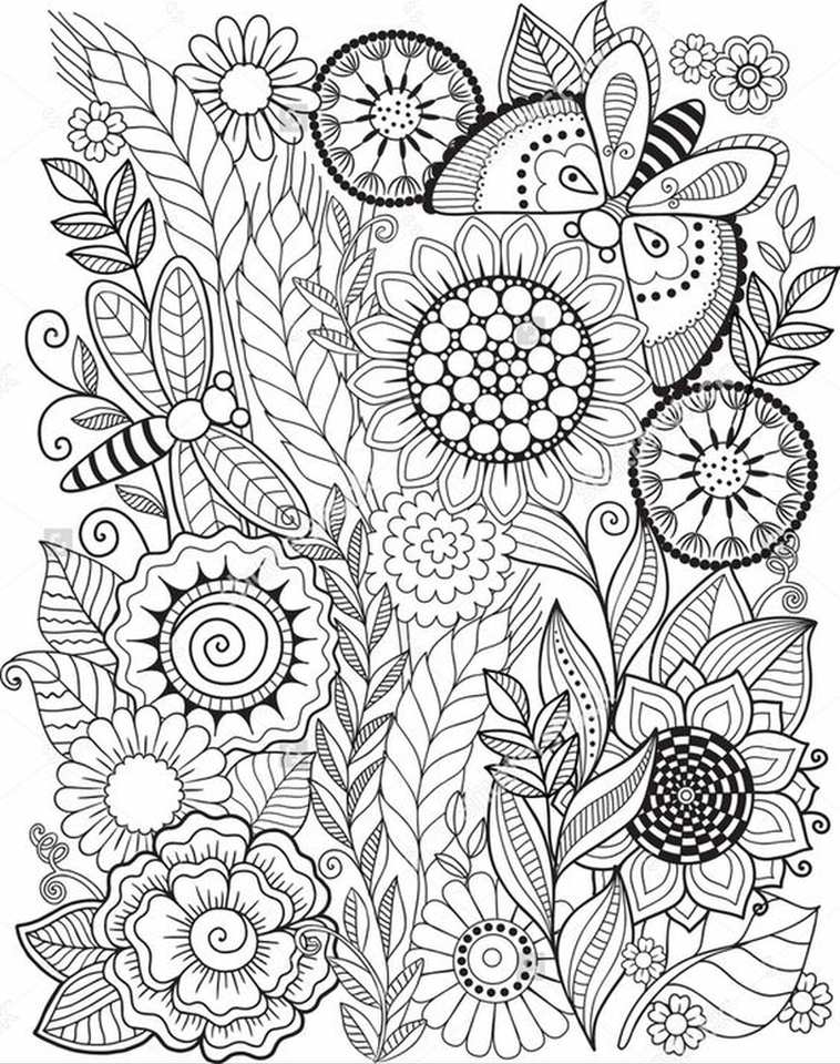 Get This Summer Coloring Pages to Print Out for Adults ...