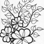 Coloring Pages Summer Flowers