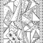 Free Printable Quilt Block Coloring Pages Free