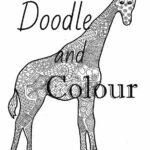 Coloring Pages Giraffe Zentangle