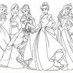 All Disney Baby Princess Coloring Pages