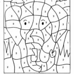 Printable Coloring Pages With Numbers For Adults