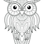 Printable Coloring Pages For Adults Easy