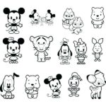 Easy Disney Cute Coloring Pages