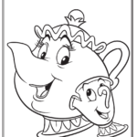 Walt Disney Christmas Coloring Pages
