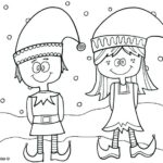 Coloring Pages Lego Elves Printable