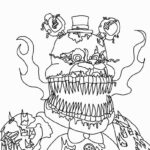 Five Nights At Freddy's Coloring Pages All Characters
