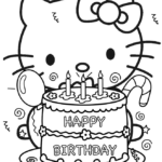 Hello Kitty Coloring Pages And Activities