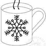 Hot Cocoa Coloring Pages