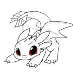 Coloring How To Train Dragon