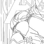 Iron Man Endgame Coloring Pages