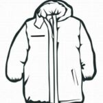 Winter Clothes Coloring Pages Printable