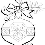 Christmas Ornaments Coloring Pages Printable
