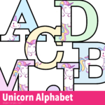 Printable Colored Alphabet Letters Free