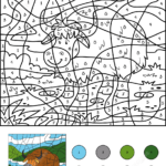 Color By Number Coloring Book Games