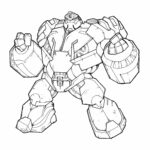 Transformers Prime Printable Coloring Pages