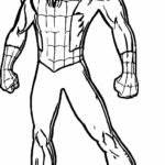 Spiderman Coloring Pages To Print Pdf