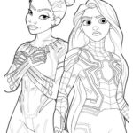 Star Wars Coloring Pages Disney