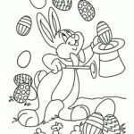 Free Printable Full Size Easter Bunny Coloring Pages