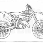 Printable Motorcycle Coloring Pages For Adults