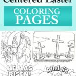 Easter Story Coloring Pages Printables
