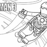 Lego Marvel Lego Iron Man Coloring Pages