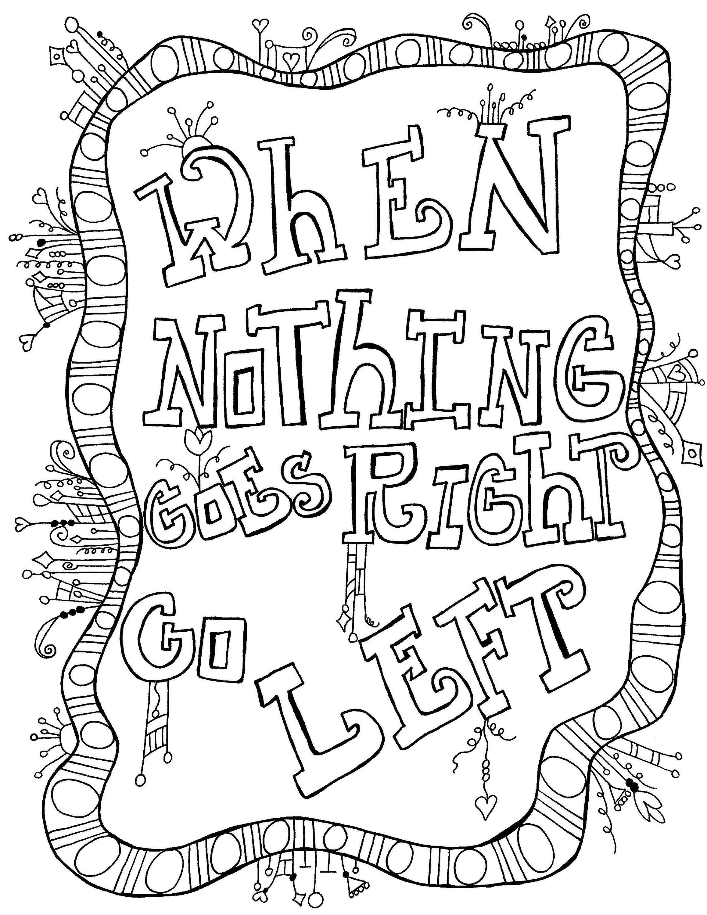 Pin by Newestella Ch on Kolor Me Quotes   Quote coloring ...