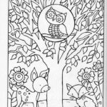 Coloring Pages Autumn Trees