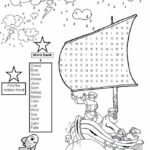 Coloring Pages For Jesus Calms The Storm